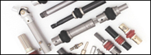 Apex military standard universal joints are designed to strict specifications to assure unsurpassed strength-to-weight ratios, torsional and axial overload capacity and low torsional deflection.
