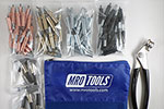 K2MSTR Deluxe (K) 0-1/4'' Grip Plier Operated Cleco Fastener Set
