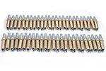 K2S50-3/16 Standard (K-3/16) 0-1/4'' Grip Plier Operated 50 Piece Cleco Fastener Set