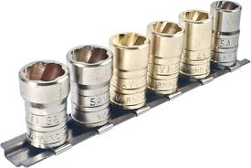 SAVI-1012 6 Piece Large Savi-Socket Set