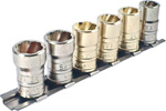 SAVI-1012 6 Piece Large Savi-Socket Set For Hi-Lok And Hi-Lite