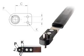 NPJ518TD Side Lug Miniature Nut Plate Jig (SLM)