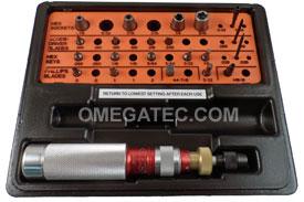 KT-30 Utica Torque Limiting Standard Model Screwdriver 24 Piece Kit