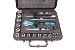05003596001 Wera 8100 SB 4 Zyklop 3/8'' Ratchet Set