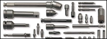 Apex bits, sockets, holders, extentions and adapters