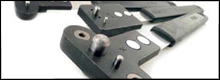 Nut Plate Drill Jigs are designed to facilitate fast accurate drilling of rivet holes to secure standard Plate Nuts