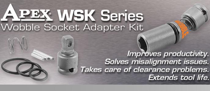 Apex® WSK Series Wobble Socket Adapter Kits