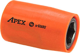 APEX UG-M-10MM13 10mm Standard u-Guard Socket, 3/8'' Square Drive