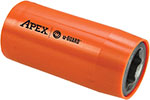 APEX UG-13MM23 13mm Long u-Guard Socket, 3/8'' Square Drive