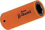 APEX UG-SF-18MM25 18mm Long u-Guard Socket, 1/2'' Square Drive