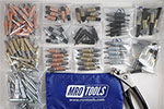 MRO TOOLS K1MSTR K-Series Master Cleco Sheet Metal Fastener Kit