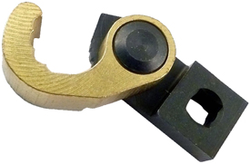OMEGA REM100-56CFP Open Ended Collar Removal Crowfoot Wrench for Hi-Lok and Hi-Lite, 1/4'' Square Drive