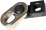 OMEGA REM100-8CF Collar Removal Crowfoot Wrench for Hi-Lok and Hi-Lite, 1/4'' Square Drive