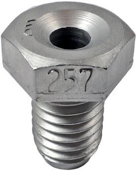OMEGA OM589AB-2570 #F Threaded Drill Bushing