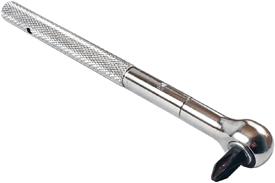 OMEGA RR40L-P2 Long Handle Reversible Roller Ratchet, #2 Phillips