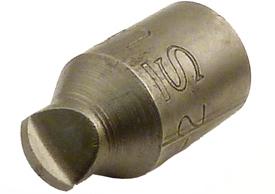 OMEGA HTS2 #2 Hi-Torque Recess Bit, 1/4'' Square Drive