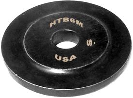 OMEGA HTB6M #6 Hi-Torque Fastener Replacement Dovetail Wheel