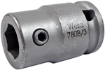 05344511001 Wera 780 B 3/8'' Adaptor, Extra Strong