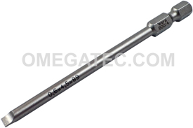 05059489001 Wera 800/4 Z 1/4'' Slotted Power Drive Bit
