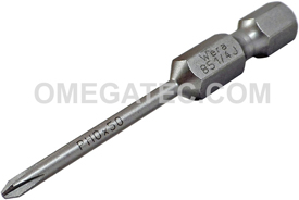 05135531001 Wera 851/4 J 1/4'' Phillips Power Drive Bit