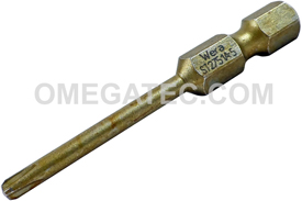 05160899001 Wera 851/4 1/4'' Phillips Power Drive Reduced Tip Bit