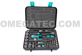 05003535001 Wera 8100 SA 4 Zyklop 1/4'' Ratchet Set