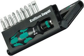 05056653001 Wera Kraftform Kompakt 10 Piece Set