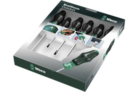 05031551001 Wera 1334/6 6 Piece Kraftform Comfort Screwdriver Set