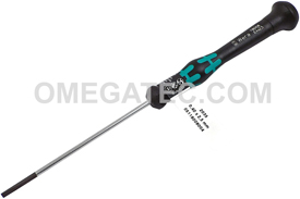 05118002001 Wera Kraftform Micro Series 2035 Slotted Screwdriver