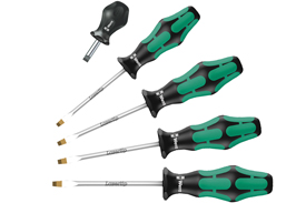 05346302001 Wera 334/336/5 5 Piece Kraftform Plus Screwdriver Set