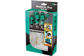05028059001 Wera 367/6 6 Piece Kraftform Plus Laser Tip Torx Screwdriver Set