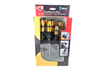 WERA 05018283001 6 Piece Screwdriver Set Kraftform Plus 932 S/6