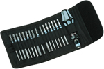 05071116001 Wera Kraftform Kompakt 60 Rapidadaptor 17 Piece Set, Stainless