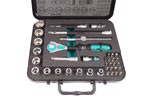 05003596001 Wera 8100 SB 4 Zyklop 3/8'' Ratchet Set