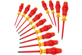 05345211001 Wera Kraftform Comfort VDE 1160i/1162i/13 13 Piece Safety Screwdriver Set