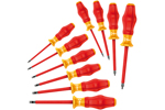 05345210001 Wera Kraftform Comfort VDE 1160i/1162i/10 10 Piece Safety Screwdriver Set