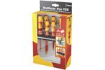 05347777001 Wera Kraftform Plus 160 i/ 168i/6 6 Piece VDE Screwdriver Set With Rack